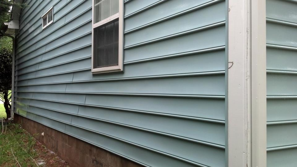 Vinyl Siding Pressure Washing After
