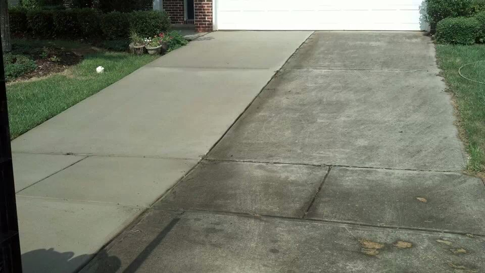 Eco friendly residential commercial pressure washing for Pressure wash concrete patio